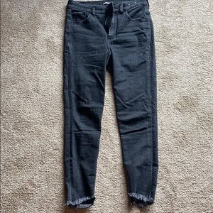 Like new- black Express jeans